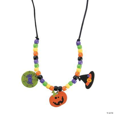 Halloween Friends Necklace Craft Kit