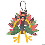 Paper Turkey Craft Kit - Makes 12