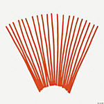 Chenille Stems - Orange