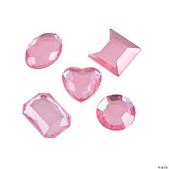 Adhesive Jewels - Pink