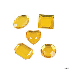 Adhesive Jewels - Yellow