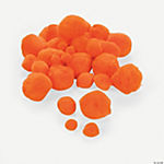 Pom-Poms - Orange