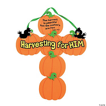 Pumpkin Cross Craft Kit