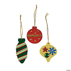 DIY Colorful Christmas Ornaments