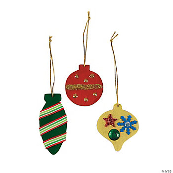 DIY Colored Ornaments