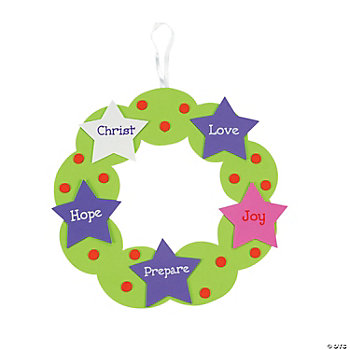 Advent Wreath Craft Kit
