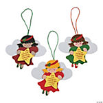 Angel Christmas Ornament Craft Kit