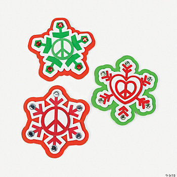 Peace On Earth Magnet Craft Kit