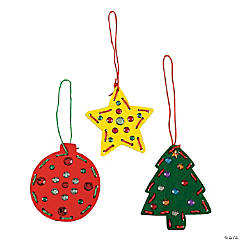 Christmas Lacing Ornament Craft Kit