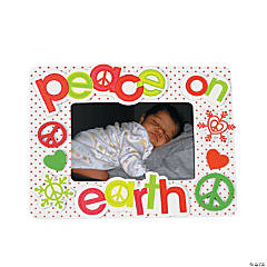 """Peace On Earth"" Photo Frame Magnet Craft Kit"