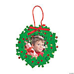 Puzzle Piece Christmas Wreath Picture Frame Ornament Craft Kit