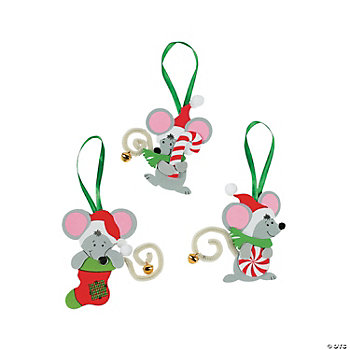 Christmas Mice Ornament Craft Kit
