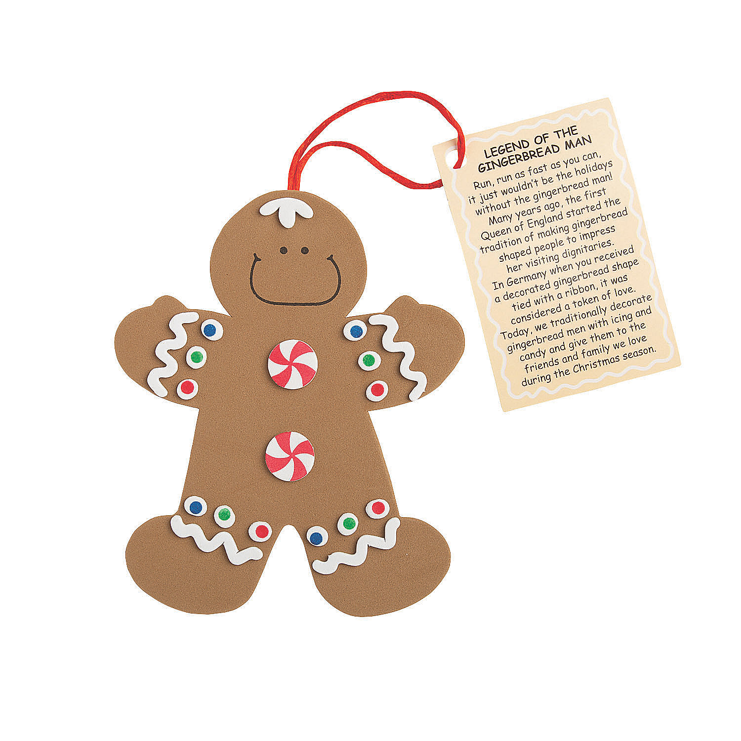 Legend of the gingerbread man christmas