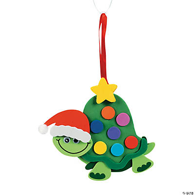 Turtle Christmas Ornament Craft Kit