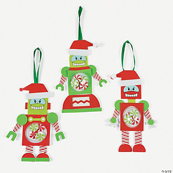 Christmas Robot Ornament Craft Kit