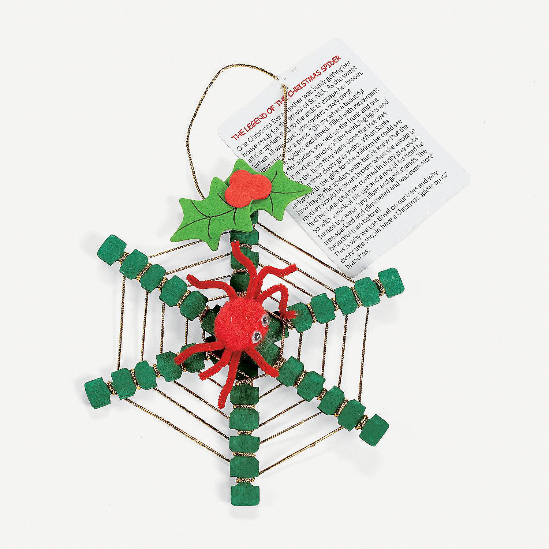 Christmas Spider Ornament Craft Kit