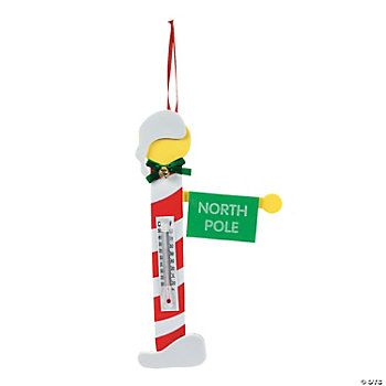 North Pole Thermometer Craft Kit