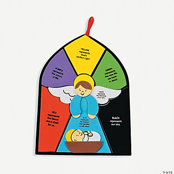 """Colors Of Faith"" Angel Sign Craft Kit"