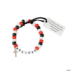 "Beaded ""Believe"" Bracelet Craft Kit"