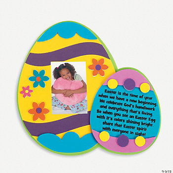 Legend Of The Easter Egg Photo Frame Magnet Craft Kit