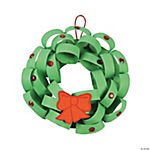 Loopy Christmas Wreath Craft Kit