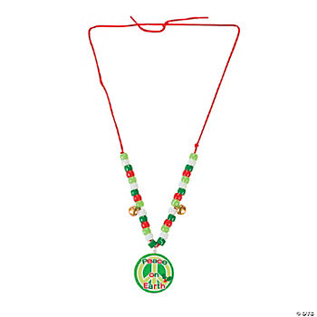 """Peace On Earth"" Necklace Craft Kit"