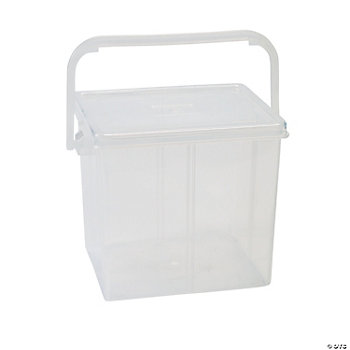 Beading Storage Bucket With Handle