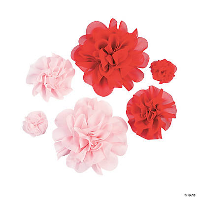 Red & Pink Monochromatic Flowers