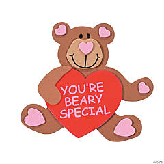 Beary Special Valentine Magnet Craft Kit