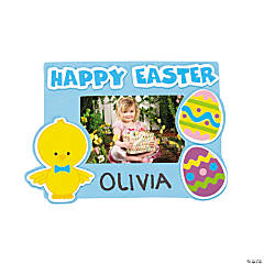 Easter Egg Chick Photo Frame Magnet Craft Kit