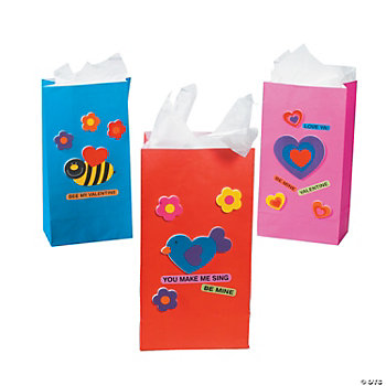 Valentine Paper Sack Craft Kit