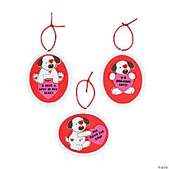 Valentine Puppy Ornament Craft Kit