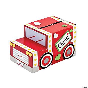 Valentine truck mailbox craft kit oriental trading
