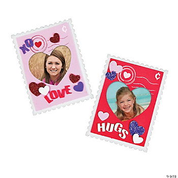 Valentine Stamp Photo Frame Craft Kit