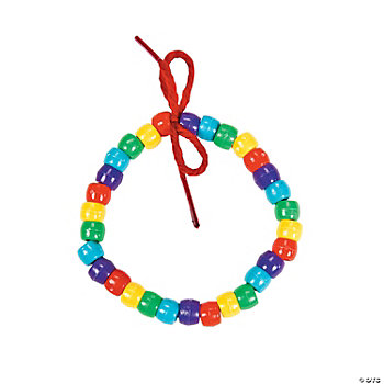 Beaded Rainbow Bracelet Craft Kit