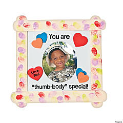 """Thumb-Body Special"" Craft Stick Photo Frame Craft Kit"