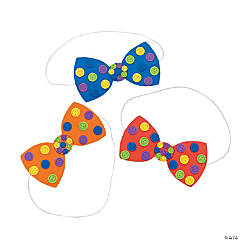 Button Bow Tie Craft Kit
