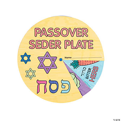 Color Your Own Passover Wheels