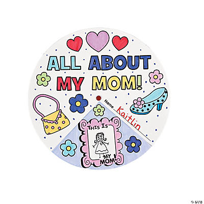 "Color Your Own ""All About My Mom"" Wheels"
