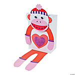 Monkey Valentine Card Holder Craft Kit