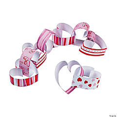 Heart Paper Chain Craft Kit