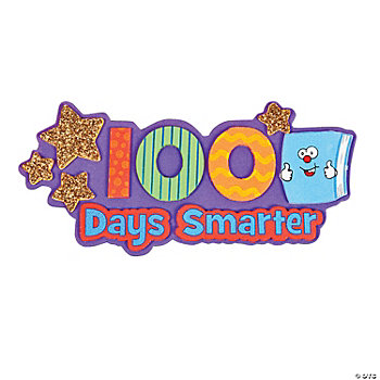 """100 Days Smarter"" Magnet Craft Kit"