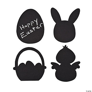 Easter Chalkboard Shapes