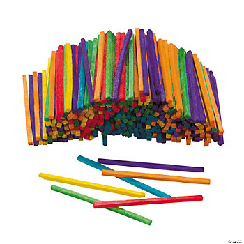 2000 Colored Match Sticks