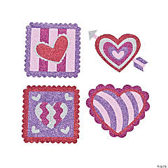 Valentine Glitter Art Craft Kit