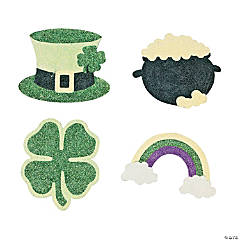 St. Patrick's Day Glitter Art Craft Kit