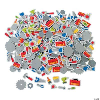 500 Tool Self-Adhesive Shapes
