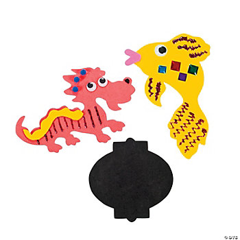 Chinese New Year Jumbo Foam Shapes