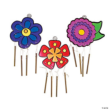 Flower Sun Catcher Wind Chimes