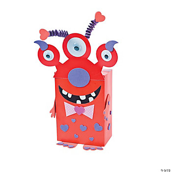 Monster Valentine Card Holder Craft Kit